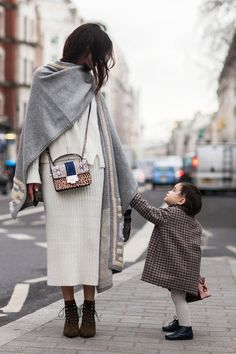 How one blogger packs for Fashion Week with her mini me