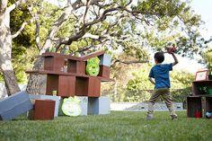 Angry Birds Party | One Artsy MamaOne Artsy Mama
