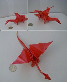 Origami Ancient Dragon Tutorial Part 2