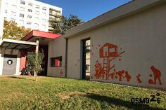 Décoration murale > Centre Social et Crèche Laennec > Jardin extérieur