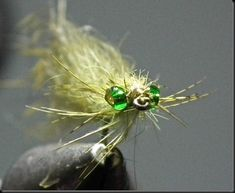 This is quite an effective little Damsel nymph pattern that is also easy to tie. I also tie this pattern with red eyes. Fishing Life, Best Fishing, Fly Fishing, Fishing Stuff, Fishing Reels, Fly Tying Vises, Fly Tying Tools, Nymph Fly Patterns, Fly Tying Patterns