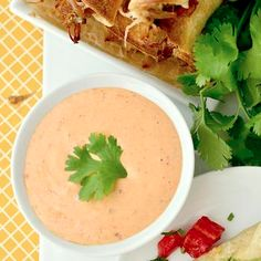 Pulled Pork Taquitos with Chipotle-Ranch Dipping Sauce (Crock Pot Recipe!) Recipe - Iowa Girl Eats
