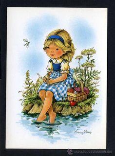 Ilustrador *Mary May* Ed. Pagsa serie 537 nº 1. Nueva. (Postales - Dibujos y Caricaturas)