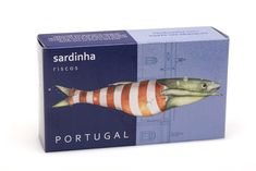Riscos Canned Fish on Packaging of the World - Creative Package Design Gallery