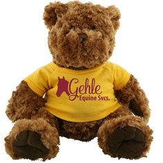 AK206 - Large Brown Teddy Bear - Personalized Teddy Bear Favors #business #advertising