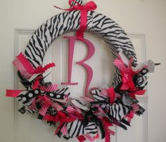 personalized room wreath
