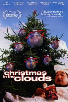 Christmas in the Clouds - Great holiday movie Christmas Tale, Christmas Movies, Christmas Bulbs, Holiday Movies, Hallmark Christmas, Norman Rockwell Paintings, Classic Comedies, Sundance Film Festival, Comedy Films
