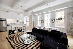 New York City Interior Design by Brett Design - Pied A Terre