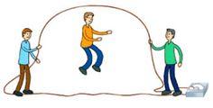 Recursos para Educación Física en Primaria y Secundaria: JUGAR CON LAS COMBAS EN EDUCACIÓN FÍSICA