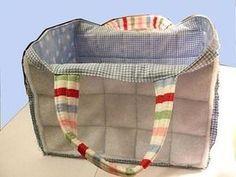 Nähen: Tasche nähen, Schnittmuster Taschen kostenlos + Anleitung