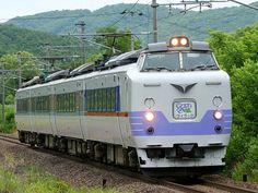 781系  室蘭~札幌~旭川間の「ライラック」「すずらん」として活躍してきたが、2007年10月ダイヤ改正で新型車両789系1000番代に置き換えられ、引退した。