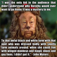 "Bert Lahr (as the Cowardly Lion) from ""The Wizard of Oz"" (1939)"