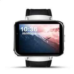 KINGEAR DM98 Bluetooth Smart Phone Watch with 0.3MP camera for Android Smartphones-Sliver
