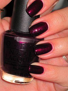 Black Cherry Chutney, my go to nail color