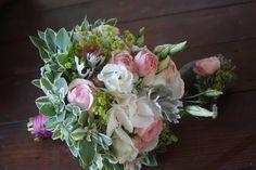 Brautstrauß in Rose - Mr & Mrs - kleine Hochzeit zu Zweit in…