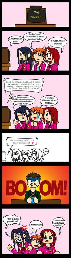 LoveMe Comic 4- Lory's Angels by WingsofMorphius.deviantart.com on @deviantART