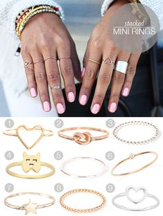 Trend Crush: Mini Rings