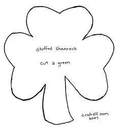 Shamrock Pattern For St PatrickS Day  Irish  Printables