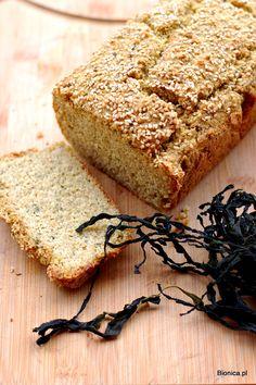gluten free bread with seaweeds  chleb bezglutenowy z glonami morskimi