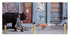 """2016. Edition of 706 30"""" x 16"""" (76 x 40.5cm) Giclee print Signed and numbered in pencil *Image featured on the cover of Red Hot Chili Peppers' album """"The Getaway"""""""