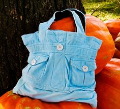 Tute for great bag upcycling old jacket.
