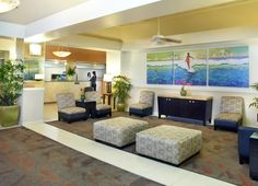 Lobby at Aqua Waikiki Wave