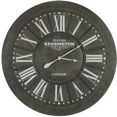 "Capen 39"" Oversized Wall Clock"
