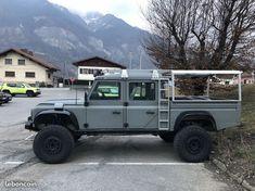Land Rover Defender Pickup, Defender Camper, Defender 110, Landrover Defender, Offroader, Cars Land, Jeep Models, Expedition Vehicle, Pick Up