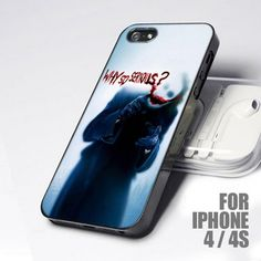 Joker Batman - Why So Serious for iPhone 4 and 4S