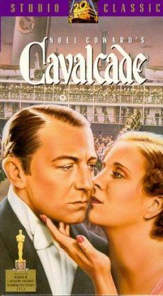 Cavalcade (1933) Best Picture Oscar. Starring Diana Wynard & CliveBrook