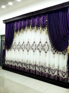 Layered Curtains, Curtains And Draperies, Luxury Curtains, Elegant Curtains, Home Curtains, Beautiful Curtains, Velvet Curtains, Modern Curtains, Blackout Curtains