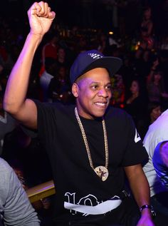 """Yes, Mrs. Carter has the No. 1 album in the country!"" Current GRAMMY nominee Jay Z celebrates at the Magna Carter World Tour after-party on Jan. 4 in Charlotte, N.C."