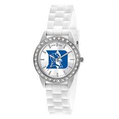 Duke Blue Devils Ladies White Fashion Watch