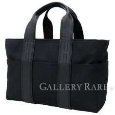 Authentic-Hermes-Handbag-Acapulco-PM-Mini-Boston-Black-Nylon-Canvas-GR-1702989