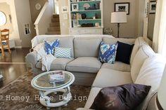Ektorp Sectional Sofa White