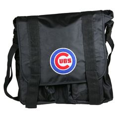 Chicago Cubs Diaper Bag Black « Blast Groceries