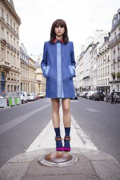 Langley Fox, Sonia by Sonia Rykiel Spring 2016 Ready-to-Wear Collection Photos - Vogue