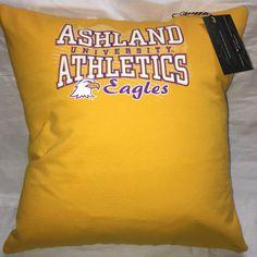 A personal favorite from my Etsy shop https://www.etsy.com/listing/481880166/ashland-ohio-university-tshirt-pillow