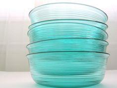 Color Azul Turquesa - Turquoise!!! Bowls