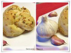GabysCottage Rezepte: Knoblauch-Knoten Brötchen