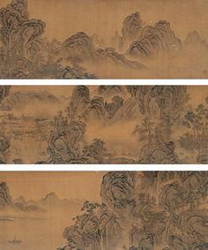 guo xi 宋-郭熙-山水手卷 by China Online Museum - Chinese Art Galleries, via Flickr