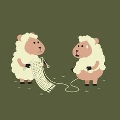 podkins: Cute knitting reblog for your dash today!
