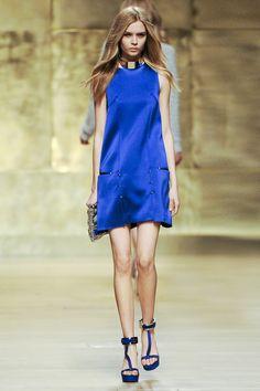 Paco Rabanne Blue Dress