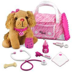Barbie Hug N' Heal Pet Doctor-Cocker Spaniel Set
