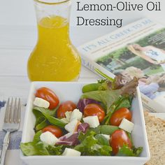 I'm excited to be participating in the It's All Greek to Me Anniversary Tour and sharing a simple and delicious Lemon-Olive Oil Dressing that's perfect for salads, marinades and more. I was able to review the It's All Greek to Me Cookbook several months ago. As we've tried recipes from the cookbook, my familyKeep Reading...