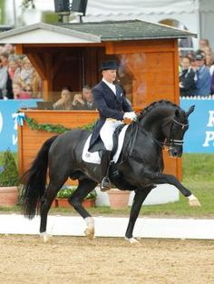 Matthias Rath and Totilas, pictured in 2011, made a comeback today, winning the Kapellen CDI*** Grand Prix in Belgium. Photo by Karl-Heinz Frieler. | The Chronicle of the Horse