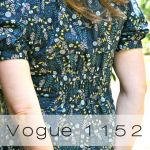 Vogue 1152 in Tula Pink voile