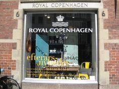 Flagstore in Copenhagen. Read about the store on the blog http://www.copenhagen-sightseeing.dk/royal-copenhagen/