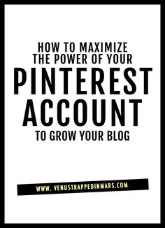 How you can use Pinterest to substantially grow your blog traffic.