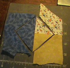 Fast & Easy Boston Block from scraps I just spent a week making these pinwheels the old fashion way THIS IS awesome !!! Next quilt ! Use 4 of these & you've got a double pinwheel any size you want without all the math !!!!! Pick your size !!!
